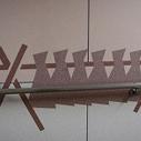 結晶化ガラス壁(ネオパリエ)