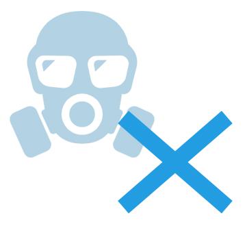有毒ガスは出ません